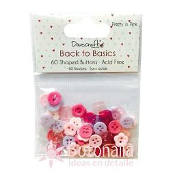 Button assortment - Pretty in Pink
