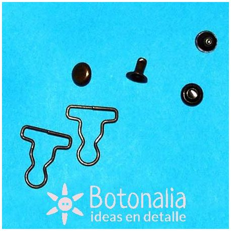 Mini hebillas peto - Bronce