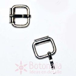 Buckle 10 mm - Silver