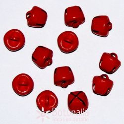 Red jingle bells 10 mm