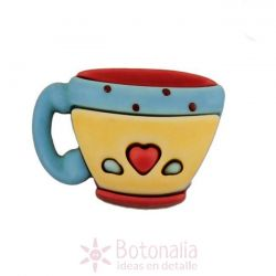 Coffee cup with a heart