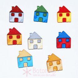 Botones casitas