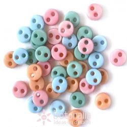 Micro botones - Pastel