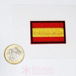 Bandera de España termoadhesiva mediana