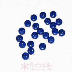 Botones azul oscuro 6mm (aprox. 20 unidades)
