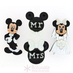 Dress-it-Up - Disney - La Boda de Mickey y Minnie