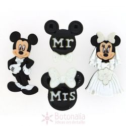 Dress-it-Up - Disney - Mickey and Minnie Wedding