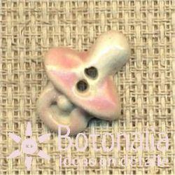 Newborn baby girl - pacifier in pink