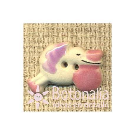 Nacimiento bebé niña - Cigüeña rosa