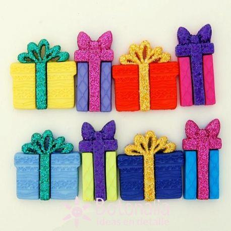 Dress-it-Up - Adornos paquetes de regalo