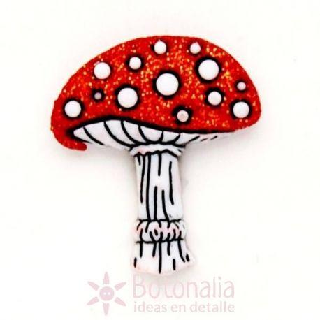 Red mushroom 22 mm