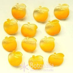 Manzana amarilla transparente 19 mm