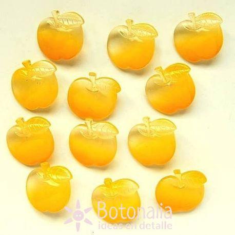 Transparent yellow apples 19 mm