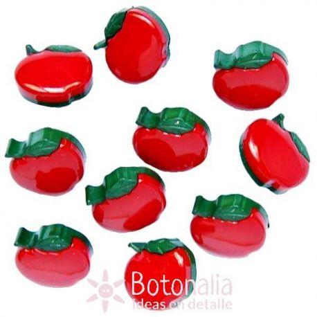 Dress-it-Up - Button fun - Apples 15 mm
