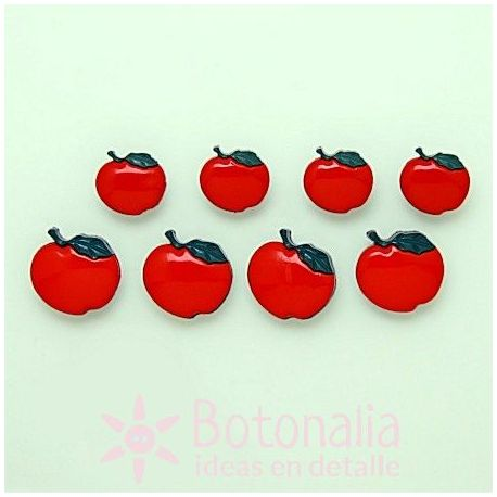 Dress-it-Up - Button fun - Apples 15 and 19 mm