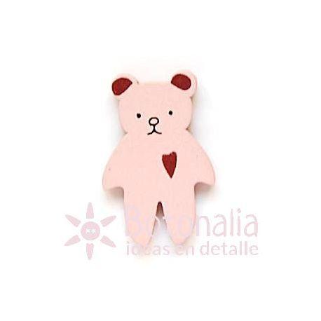 Teddy bear pink 30 mm