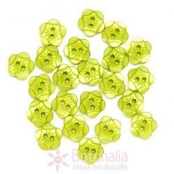 Tallado brillante verde amarillento