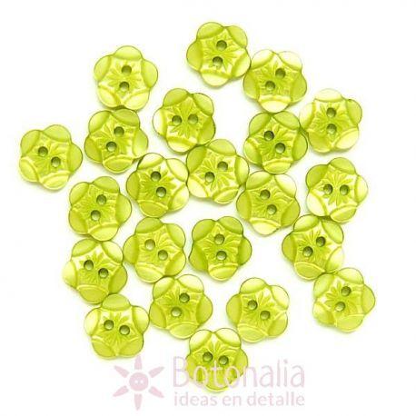 Carved brillante yellowy green