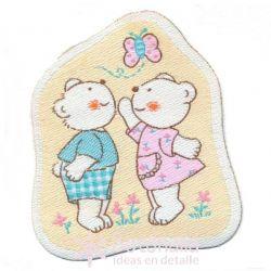 Teddy bears couple