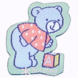 Teddy bear baby 1