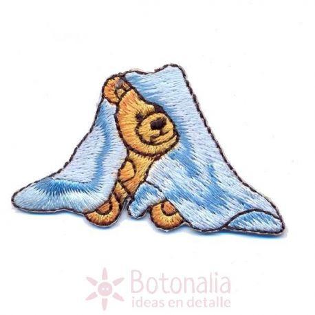 Under the cover teddy bear