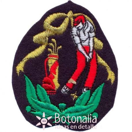 Golf - Emblema con jugador