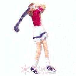 Mujer jugando al golf 3