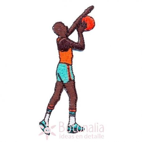 Man playing basketball 2