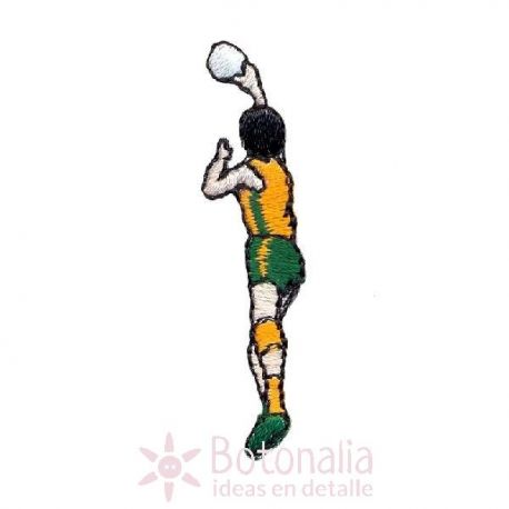 Man playing basketball 3