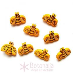 Dress-it-Up - Button Fun - Bees
