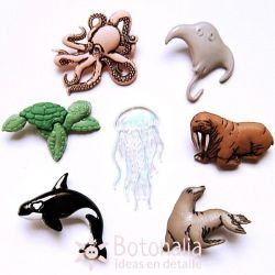 Dress-it-Up - Sea Creatures