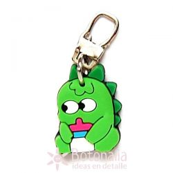 Zipper pull embellishment - Small Dinosaur