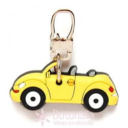 Zipper pull embellishment - Little Car