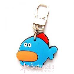 Zipper pull embellishment - Fish.