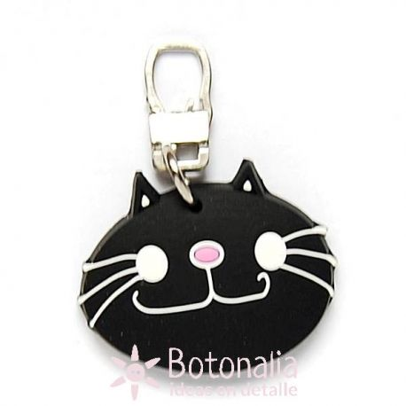 Zipper pull embellishment - Kitten.