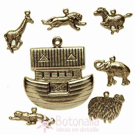 Noah's Ark embellishments
