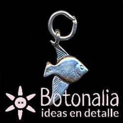 Silver embellishment - Fish (Charm)
