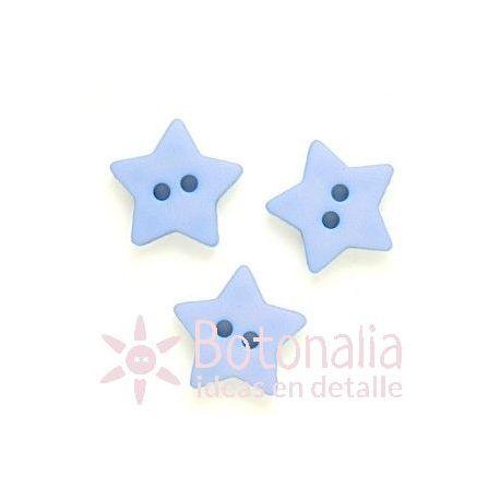 Estrella azul 15 mm