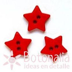 Star red 15 mm