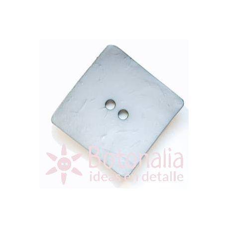 Large buttons - Square pastel blue - 60mm