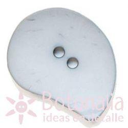 Large buttons - Petal pastel blue - 45mm
