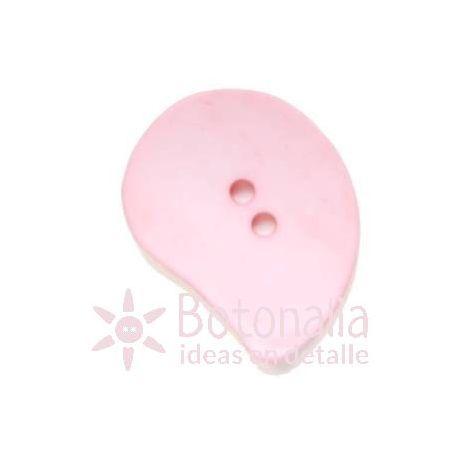 Botones Grandes - Pétalo Rosa Pastel - 45mm