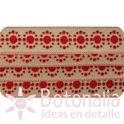 Cinta Bordada Colección Comptoir Sajou N.2