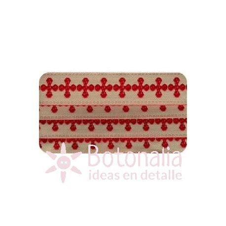 Embroidered Ribbon Comptoir Sajou Collection N.1