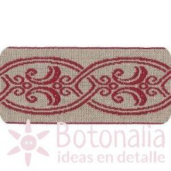 Jacquard Ribbon Chatelet Model