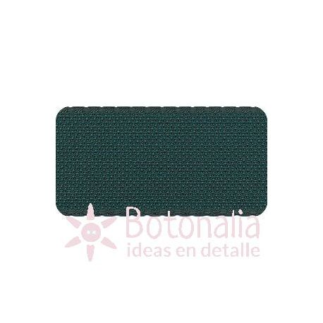 Cross Stitch Aida tape - green with border in green