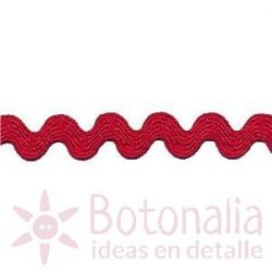Zig-Zag Ribbon in red A