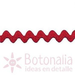 Zig-Zag Ribbon in red B