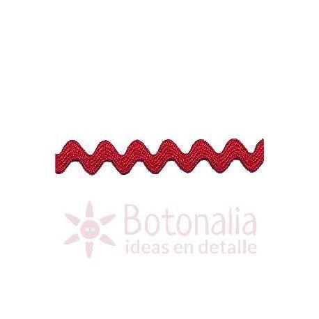 Zig-Zag Ribbon in red B