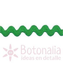 Zig-Zag Ribbon in green A